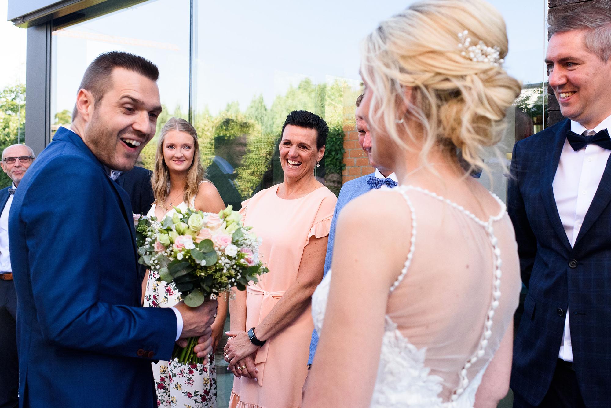 Fiere bruidegom