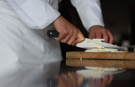 chef kok in actie