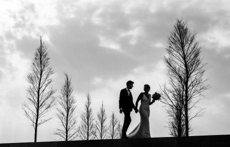 wandeling net gehuwd koppel